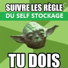 a stocker en self stockage