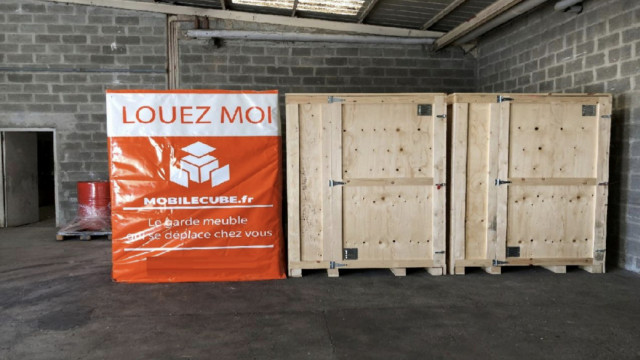 Box container Vitrolles Marseille Mobile cube