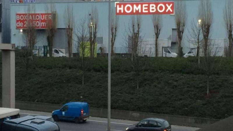 Garde meuble Homebox Bagnolet