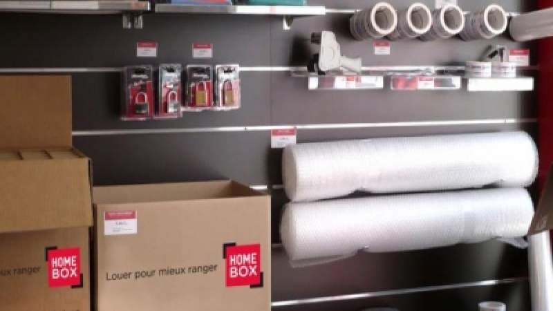Boutique déménagement Homebox Bagnolet