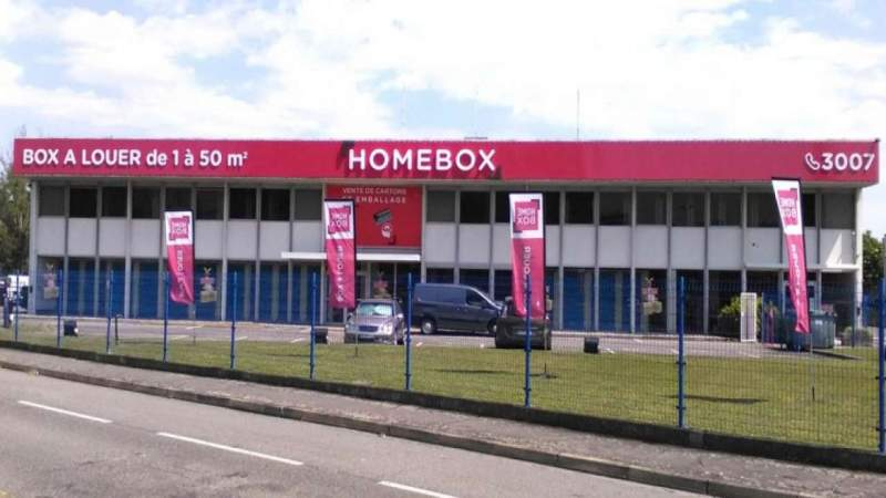 Garde meuble toulouse stockage homebox toulouse babinet for Location garde meuble toulouse