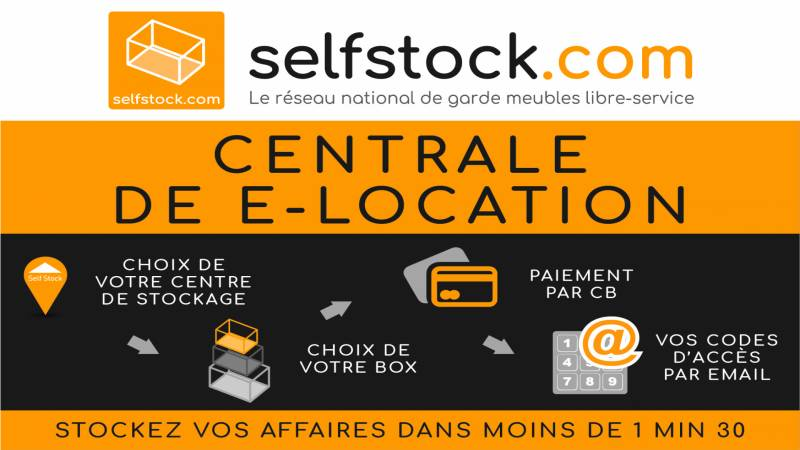 Location sur Internet box stockage Chambly