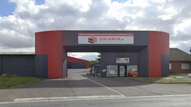 Box de stockage Locabox Valenciennes