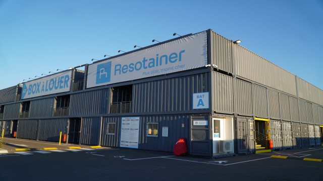 Container Resotainer Rouen nord