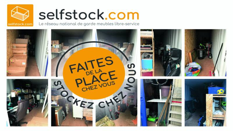 Box garde meubles Nancy Selfstock