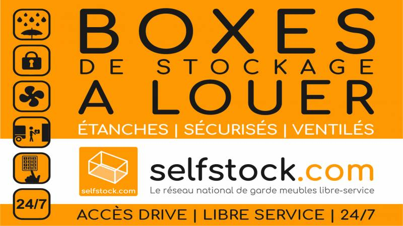 Garde meuble Bourges Selfstock