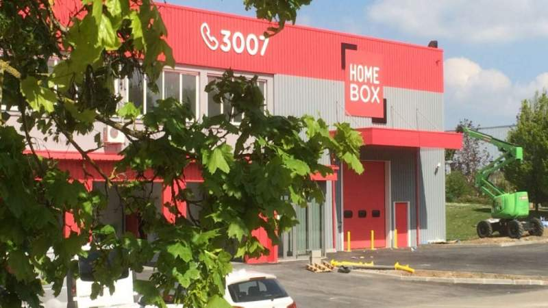 Box self-stockage Chartres Homebox