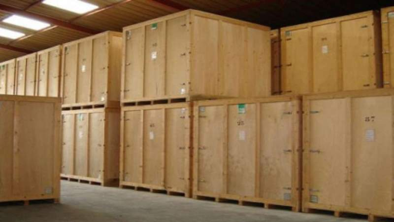 Container de stockage frontignan 33m box acc s direct for Container en bois